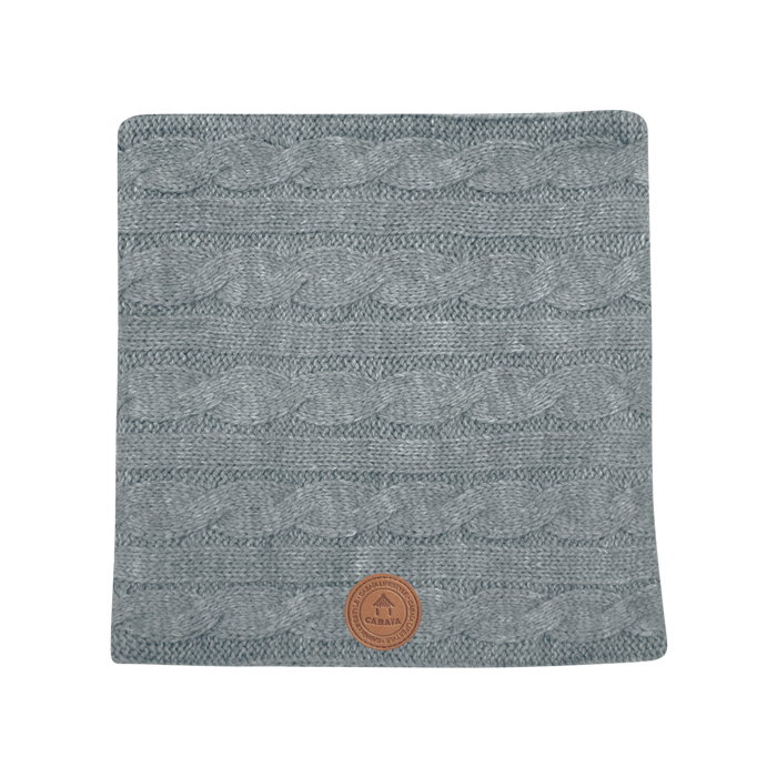 Snood Creamy Gin Grey Melanged, Cabaïa