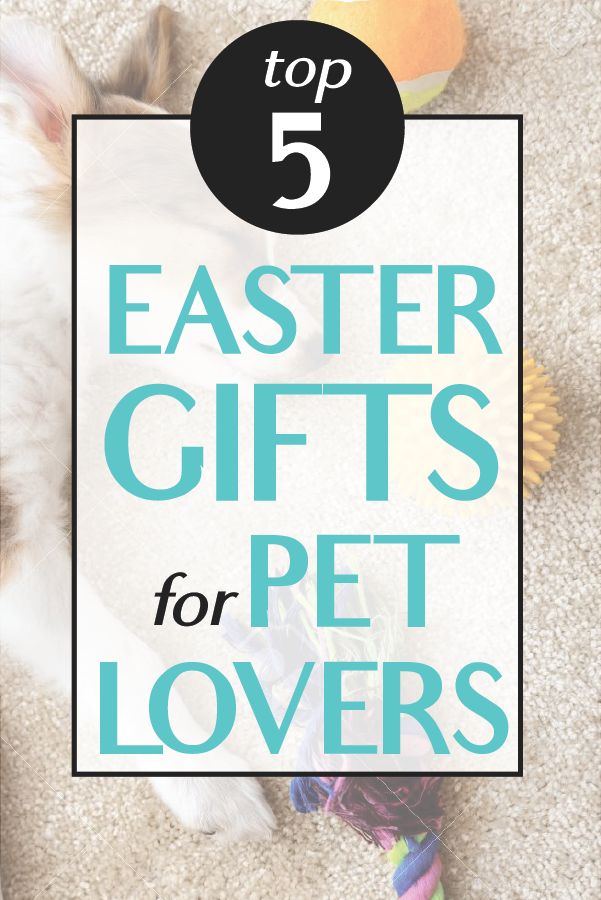 Top 5 Easter Gifts for Pet Lovers
