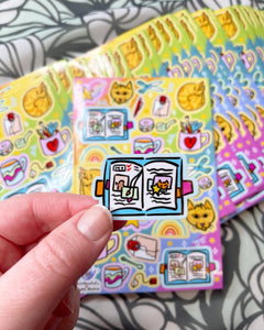 Stationery Sticker Sheet