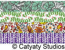 Load image into Gallery viewer, Mistletoe Washi Tape Sampler