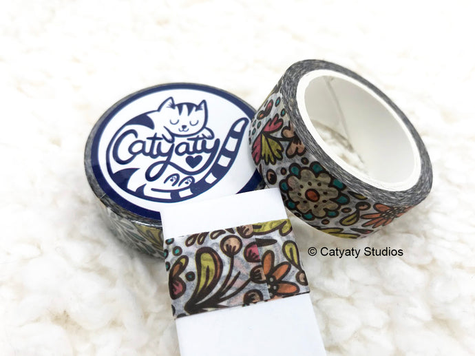 Caty's Garden Washi Tape Sampler