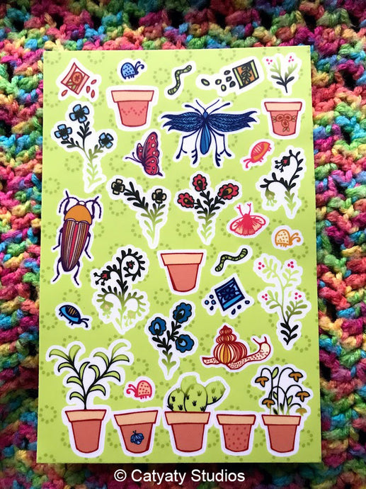 Garden Sticker Sheet