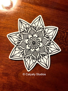 Lotus Mandala Sticker