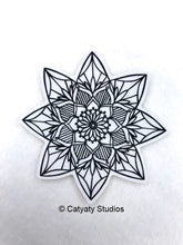 Load image into Gallery viewer, Lotus Mandala Sticker