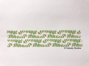 Mistletoe Washi Tape