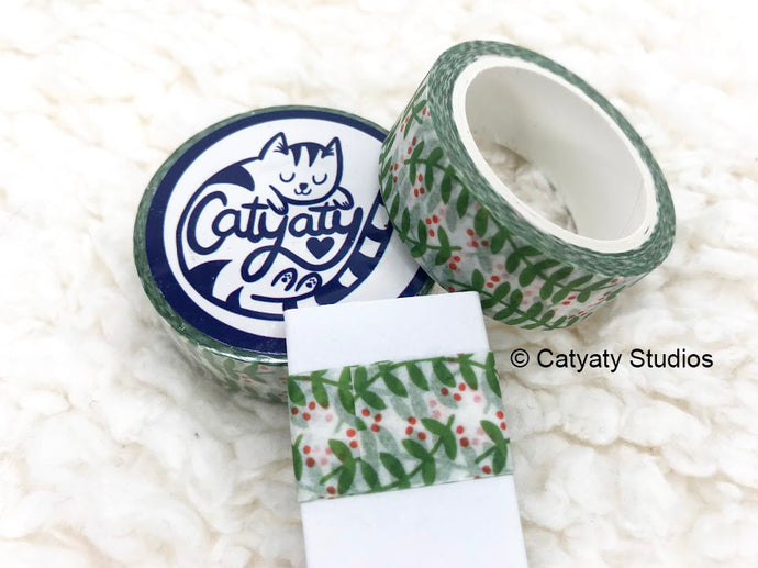 Mistletoe Washi Tape Sampler