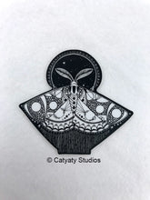 Load image into Gallery viewer, Space Moth Sticker