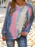Tie-dye Casual Regular Sweatshirt