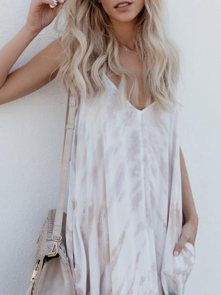 Boho Printed Beach Summer Sundress
