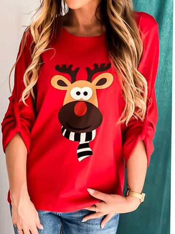 products/ChristmasElkPrintRollSleeveTop_3.jpg