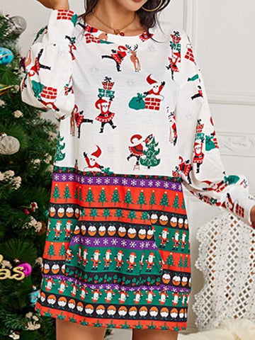 products/ChristmasPatternPrintLooseDress_2.jpg