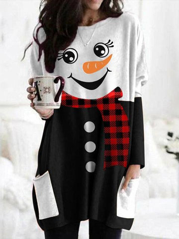 products/ChristmasSnowmanPrintLongSleeveDress_1.jpg
