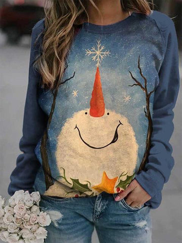 products/ChristmasSnowmanPrintLooseTop_3.jpg