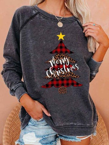 Christmas Tree Sweatshirt Pullover
