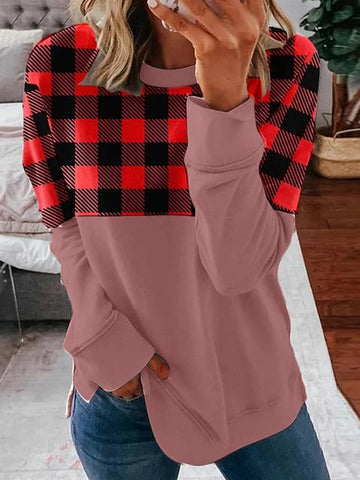 products/ContrastPlaidPrintRoundNeckLoosePullover_1.jpg