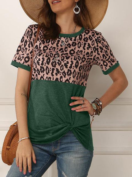 leopard-stitching-short-sleeve-twisted-tops-ppp6177