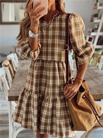 products/PlaidPatternRoundNeckRuffleDress_1.jpg