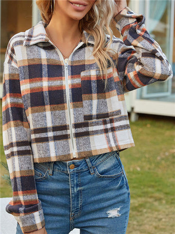 products/PlaidZipperLooseShortJacket_2.jpg