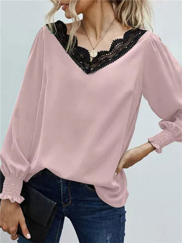 products/SolidVNeckLacePatchworkBlouse_3.jpg