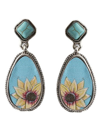products/TurquoiseWaterDropShapedSunflowerEarrings_2.jpg