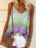 V-neck Ombre Print Camisole