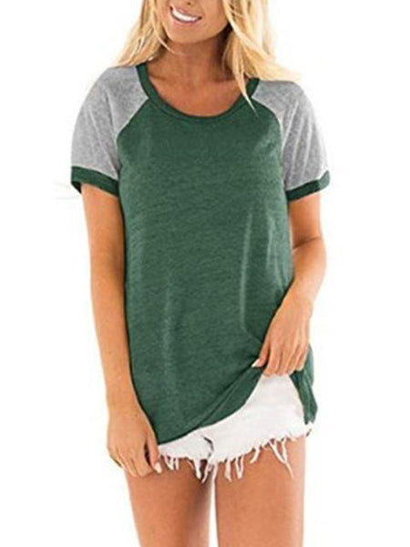 color-block-stitching-short-sleeve-tops-zsy5234-1