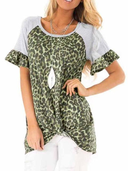 leopard-print-twisted-short-sleeve-top-zsy7135