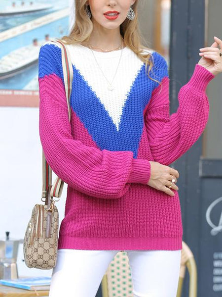Casual Long Sleeve Regular Sweater