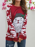 Christmas Santa Claus Knitted Ugly Sweater