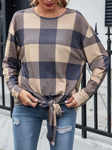 products/plaid-print-knotted-casual-tops_1.jpg