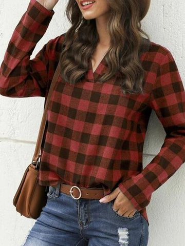 products/plaid-print-v-neck-casual-tops_2.jpg