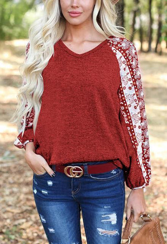 products/printed-lantern-sleeve-v-neck-casual-tops_4.jpg