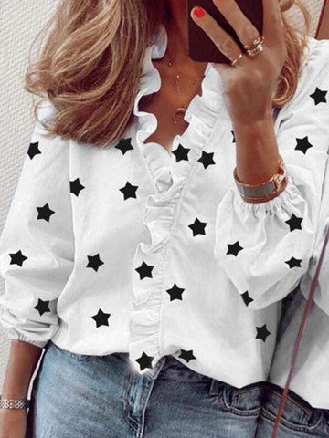 products/stars-print-ruffled-v-neck-blouse_1.jpg