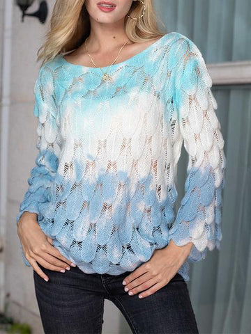 products/tie-dye-feather-shapes-hollow-out-pullover_1.jpg