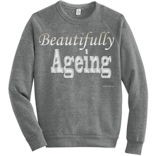 Load image into Gallery viewer, Beautifully Ageing Fleece Sweatshirt Gold/Silver
