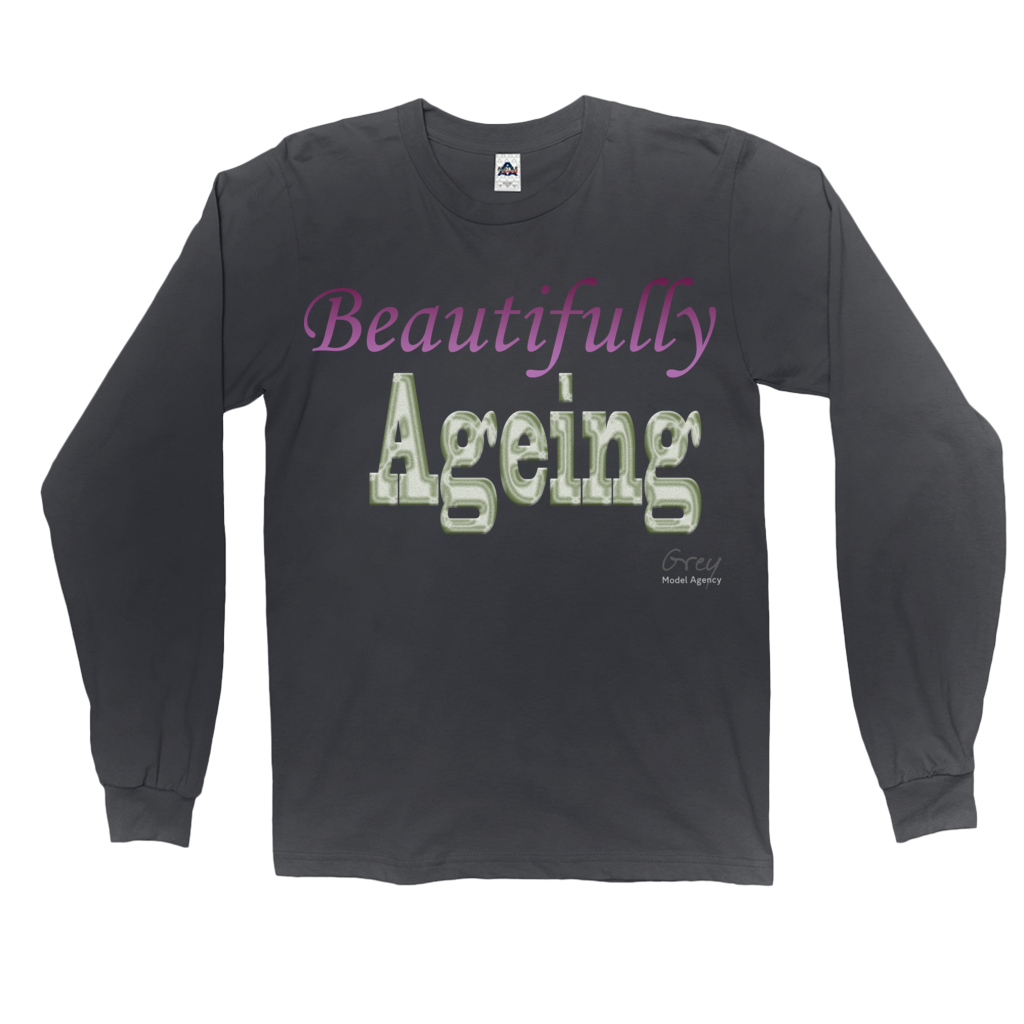Beautifully Ageing Long Sleeve Shirt Purple/Green