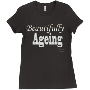 Beautifully Ageing T-Shirt Gold/Silver