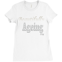 Load image into Gallery viewer, Beautifully Ageing T-Shirt Gold/Silver