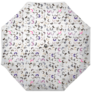 Crowd Grey Pop-Up Umbrella