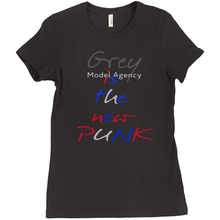 Load image into Gallery viewer, Grey Punk T-Shirts Red, Grey, Blue