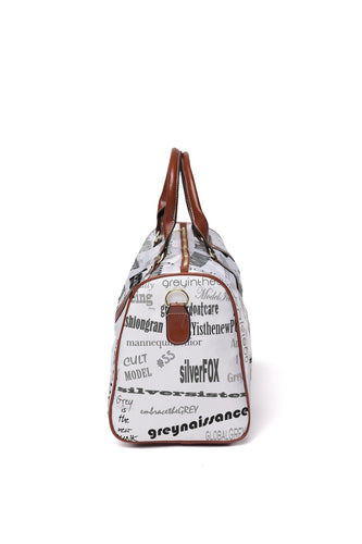 Hashtag Grey Travel Large Bag