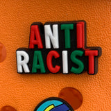 SHOE CHARMS -  ANTIRACIST - ShoeNami