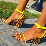 REINA Leopard/Yellow - ShoeNami
