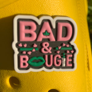 SHOE CHARMS - BAD AND BOUGIE - ShoeNami