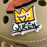 SHOE CHARMS - GRAFFITI QUEEN - ShoeNami