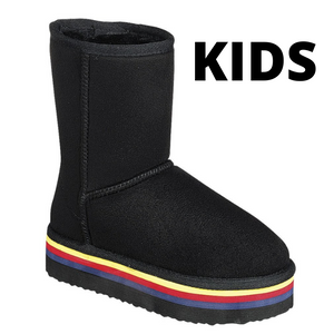 AMY-19K KIDS Black - ShoeNami