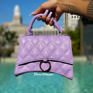 BARDOZA PURSE Lilac - ShoeNami