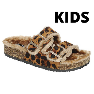 BENEFIT-87K KIDS Leopard - ShoeNami