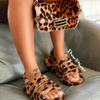 FLUFF CLUTCH Leopard - ShoeNami