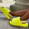 CUDDLES-01 Yellow - ShoeNami